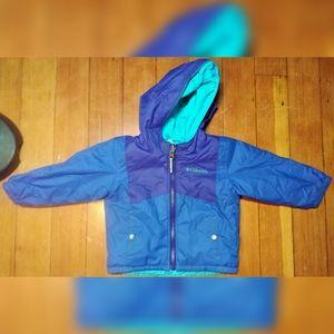 Kids 2T Reversible Columbia Snow Jacket